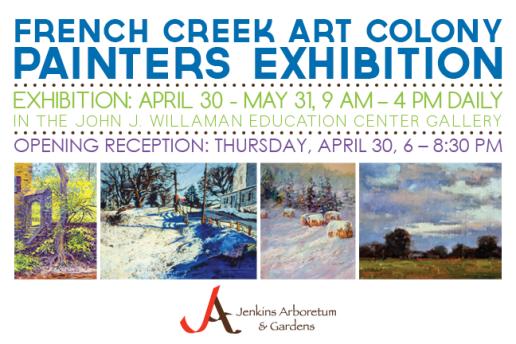 Jenkins Arboretum & Gardens Exhibition Postcard
