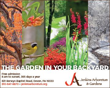 Jenkins Arboretum & Gardens print ad