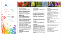 Jenkins Arboretum & Gardens Exhibition Prospectus