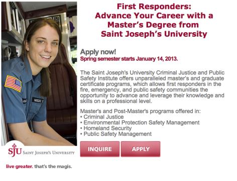 Saint Joseph's University Eblast