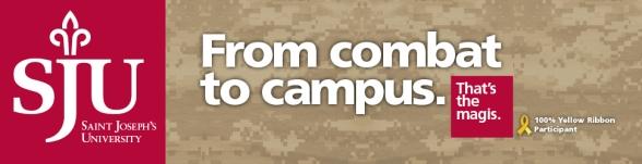 Saint Joseph's University web ad